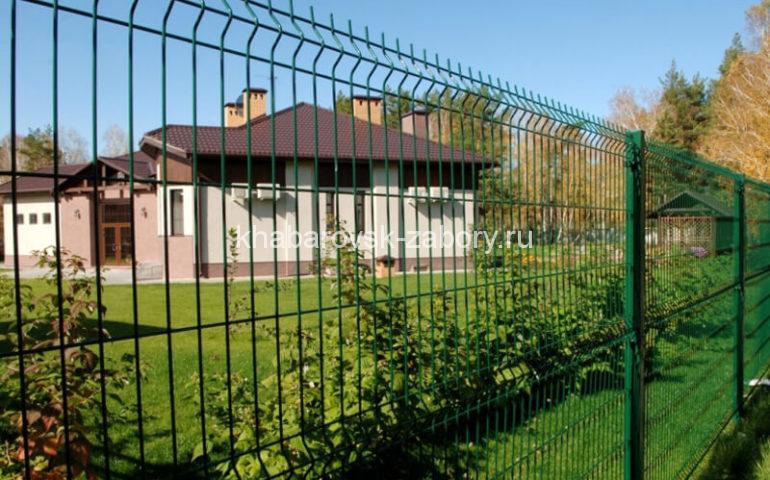 3д забор в Хабаровске